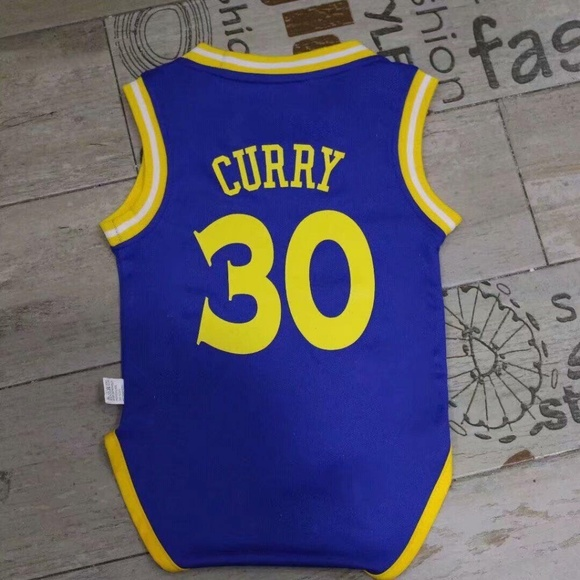 finest selection c47ed 0739c Curry Golden State Warriors baby infant jersey NWT